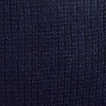 Size 10 - 13 1950s Deadstock Navy Blue Stretch Socks Trouser Calf Ribbed - Fashionconstellate.com