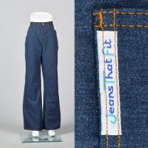 XL 1970s Deadstock Jeans That Fit Vintage Denim