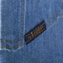 Large 1970s Mens Mr Leggs Jeans Medium Wash Straight Leg Vintage Denim - Fashionconstellate.com