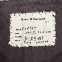 Small Gary Graham Brown Corset Top Sleeveless Boned Laced Back Cotton Separates  - Fashionconstellate.com