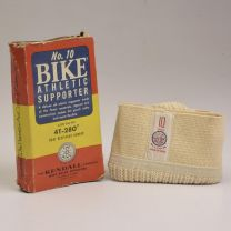 Small 1950s Deadstock No. 10 Bike Athletic Supporter Jock Strap Knit