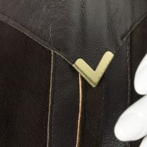 Small 1970s Brown Suede Leather Suit Blazer Jacket Matching Hight Waist Pants  - Fashionconstellate.com