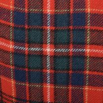 XS 1970s Pendleton Plaid Pants Red Wool Blue Green Woven Tartan Flat Front Lined Tapered Leg - Fashionconstellate.com