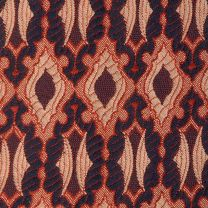 1970s Necktie Psychedelic Woven Tapestry Woven in Italy  - Fashionconstellate.com