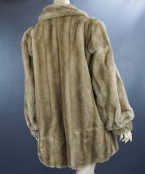 Emilio Pucci Blond Faux Fur Jacket, Made In Italy, Size 14 Vegan Coat - Fashionconstellate.com