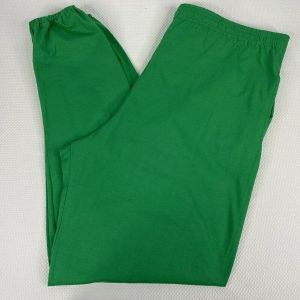1990s Deadstock Russell Athletic Green Joggers Sweatpants Lounge Pants Size XL
