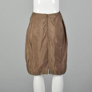 Small 1960s American Maid Brown Half Slip Vintage Lingerie Silky Nylon  - Fashionconstellate.com