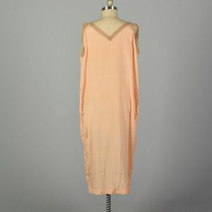 3XL 1920s Boudoir Nightgown Volup Lingerie Sleeveless  - Fashionconstellate.com