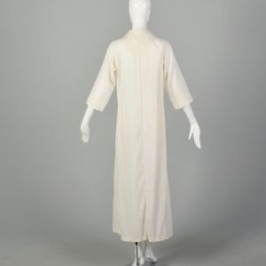 Medium 1970s Maxi Dress Boho Semi Sheer Caftan Bohemian Hippie Kaftan  - Fashionconstellate.com