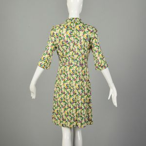 Medium Diane Von Furstenberg Violet Print Dress Floral Designer Silk Jersey - Fashionconstellate.com
