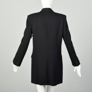 Medium Wool Jacket Black Saks Fifth Avenue  - Fashionconstellate.com