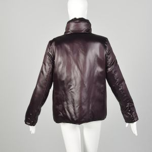 Medium Jil Sander Minimalist Shawl Collar Puffer Jacket - Fashionconstellate.com