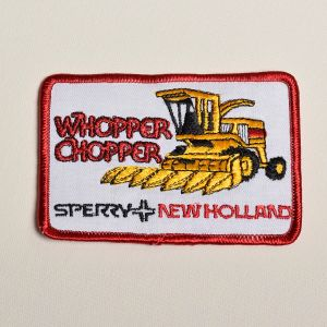 Sperry New Holland Embroidered Sew On Patch Tractor Farming Applique