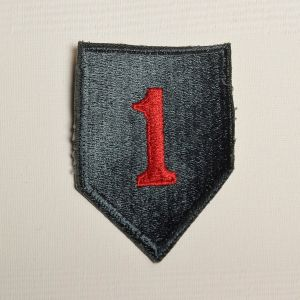 1960s US Army 1st Infantry Division Sew On Patch The Big Red One The Fighting First