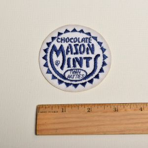 Chocolate Mason Mints Embroidered Sew On Patch Applique  - Fashionconstellate.com