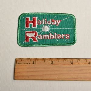 1970s Holiday Ramblers Motorhome Embroidered Sew On Patch RV Travel Appliqué - Fashionconstellate.com