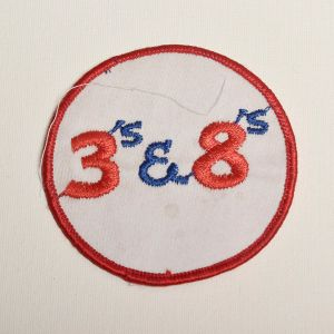 1970s Trucker Embroidered Patch Long Haul Truck Driver CB Slang Applique