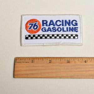 76 Racing Gasoline Embroidered Sew On Patch Automotive Race Cars Gas Applique  - Fashionconstellate.com