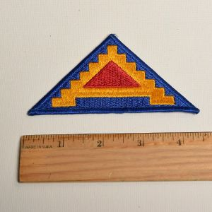 1980s US Army Sew On Patch 7th Seventh Pyramid Of Power 7 Steps To Hell Applique - Fashionconstellate.com