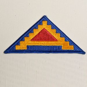 1980s US Army Sew On Patch 7th Seventh Pyramid Of Power 7 Steps To Hell Applique