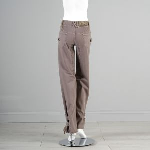 XS Dolce Gabbana Taupe Denim Pants  - Fashionconstellate.com