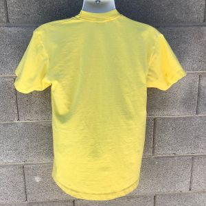 Vintage 1989 Yellow US National Hot Air Balloon Championship Baton Rouge T-shirt Size L American Eag - Fashionconstellate.com