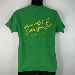 1980s 1982 Clarence Clemons CC Red Bank Rockers Tour T-shirt Size Large - Fashionconstellate.com