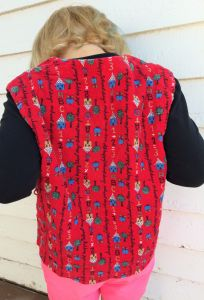 School Days Vest Red Girls 4 5 Nostalgic ABCs Top Kindergarten - Fashionconstellate.com